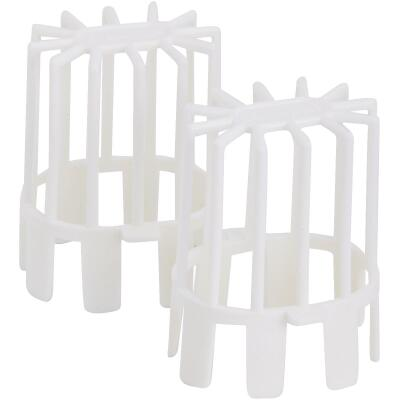 Frost King 3 In. Plastic Downspout Guard, (2-Pack)