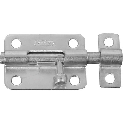 National 3 In. Zinc Steel Door Barrel Bolt