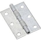 National 3 In. Zinc Loose-Pin Narrow Hinge (2-Pack) Image 1