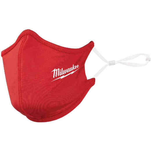 Milwaukee Red 2-Layer Washable Dust & Face Mask