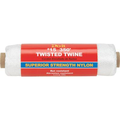 Do it #15 x 350 Ft. White Nylon Twisted Twine