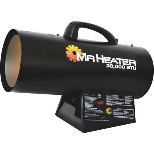MR. HEATER 38,000 BTU Propane QBT Forced Air Heater