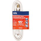 Do it Best 15 Ft. 16/2 White Cube Tap Extension Cord Image 1