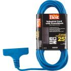 Do it Best 25 Ft. 16/3 Extension Cord with Power Block Image 1